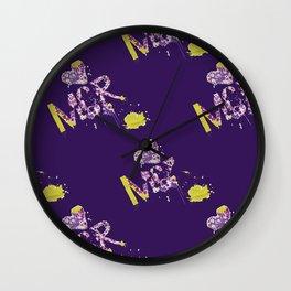 Mor.pattern Wall Clock