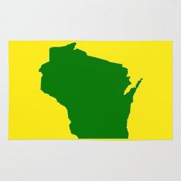 Wisconsin Football Rug