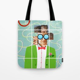 Hockney illustration Tote Bag