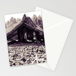 A Ruin with Millions of Secrets Stationery Cards