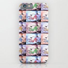 Bicycle Pattern Key West iPhone Case