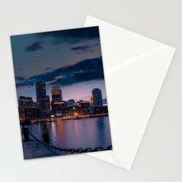 Boston Harbor Stationery Cards