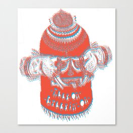(Keep On, Creepin' On) Canvas Print