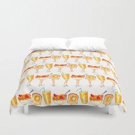 Breakfast Pin-Ups Duvet Cover