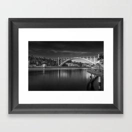 Arrabida bridge (III) Framed Art Print