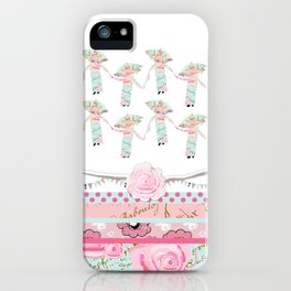 A Pocket Full of Shabby Chic iPhone Case