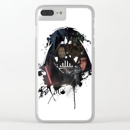 The Dark Side Clear iPhone Case