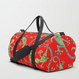 Lagartijas Duffle Bag