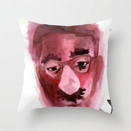 Sad & Clown Throw Pillow