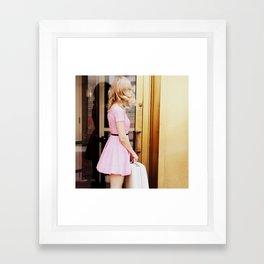 pretty in pink three Framed Art Print