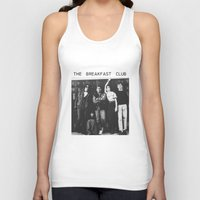 the breakfast club Tank Tops featuring The breakfast club by Mariana M