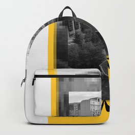 Yellow City 06 Backpack