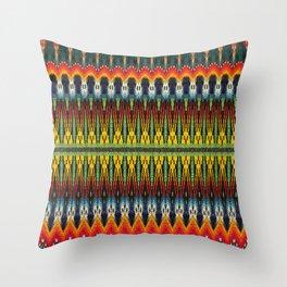 Bolitas de colores Throw Pillow