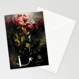 Forgotten Roses Stationery Cards