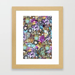 Vintage Bling Framed Art Print