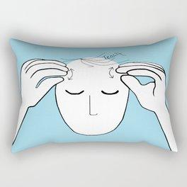 ASL Teach Rectangular Pillow