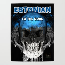 To The Core Collection: Estonia Poster