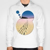 skiing Hoodies featuring Cross country skiing | Winter wonderland | Landscape photography by Patrick Jobst