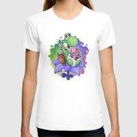 yoshi T-shirts featuring Yoshi and Baby Yoshi by likelikes