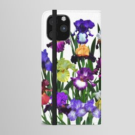 Iris garden iPhone Wallet Case