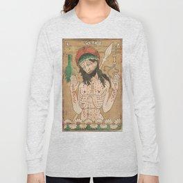Man of Sorrows - 15th Century Woodcut Long Sleeve T-shirt