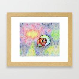 Goober in Space Framed Art Print
