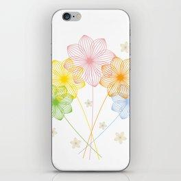 Blooming Flowers iPhone Skin