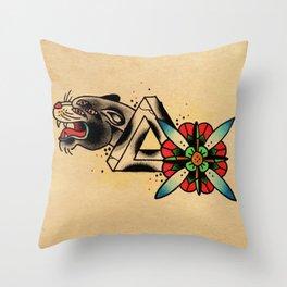 Pnthrbilia Throw Pillow
