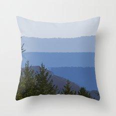Dipsea Trail Throw Pillow