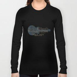 Rubin & Floyd's vintage guitar shop Long Sleeve T-shirt