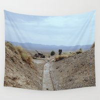 western Wall Tapestries featuring western railway by Katie Corley