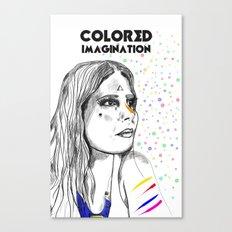 Colored Imagination #2 Canvas Print