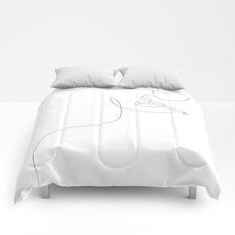Sunny Smoke Comforters