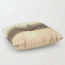 Stillness of Morning Floor Pillow
