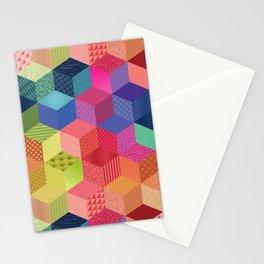 RAINBOW GEO PATTERN Stationery Cards