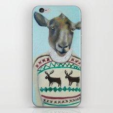 Sheep Wearing Deer Sweater  iPhone & iPod Skin