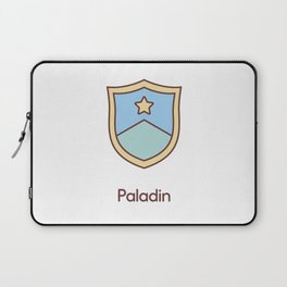 Cute Dungeons and Dragons Paladin class Laptop Sleeve