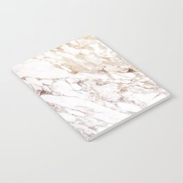 White Onyx Marble Notebook