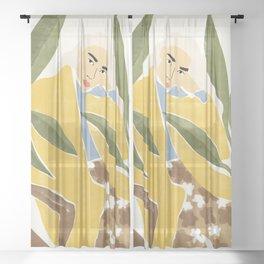 Thinking Sheer Curtain