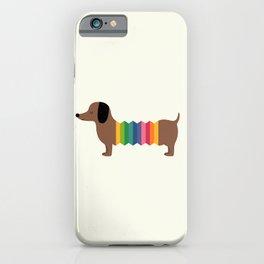 Rainbow Dooooog iPhone Case