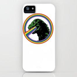 Rainbow Lizard iPhone Case