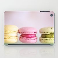 macaroons iPad Cases featuring Three macaroons by Susigrafie