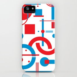 CHE blue&red iPhone Case