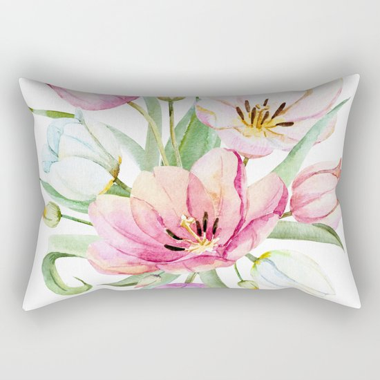 Spring is in the air #36 Rectangular Pillow