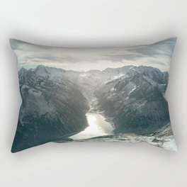 Mountain Panorama Rectangular Pillow
