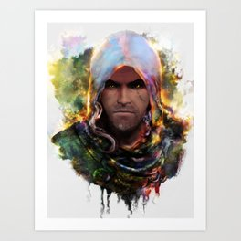 witchers creed Art Print
