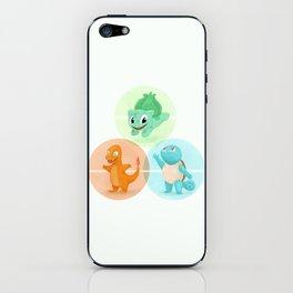 Poké: choose your starter iPhone Skin