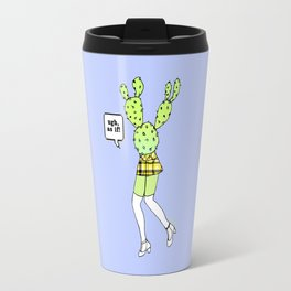 As If Cactus Travel Mug