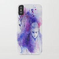 legolas iPhone & iPod Cases featuring Thranduil and Legolas by Kinko-White
