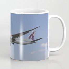 Qatar Airlines Boeing 777 Coffee Mug